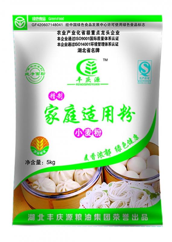 湖南精制家庭适用小麦粉5kg